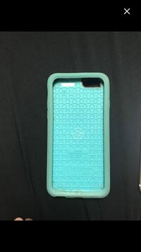 Teal and Pink otter box iphone 6