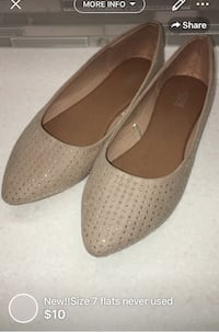 New!!Size 7 flats never used London, N5W 1E8