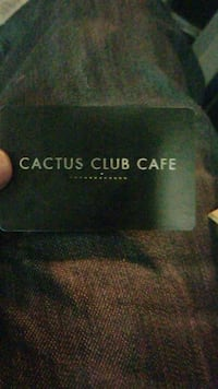 100$ Cactus club cafe gift card