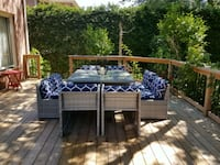 Brand new 9 piece compact patio set Newmarket, L3Y 9E3