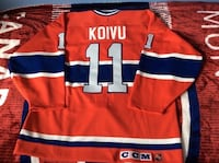 Saku Koivu Signed Montreal Canadiens jersey  Châteauguay, J6K 2M7