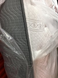 Brand new White and gray floral mattress Grand Rapids, 49508