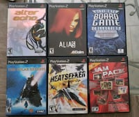 Jam pak board games other ps2 games  Toronto, M2J 4P8