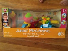 children Play go Juinio mechanic box