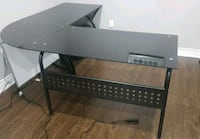 L Shaped Executive Glass Desk Mississauga, L5V 1W9