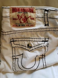 white True Religions Windsor