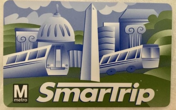 SmarTrip card for sale. Value of $262 asking $100