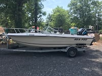 1994 Sea-Pro 19' dual console with 2002 150hp mercury outboard and galvanized trailer. Gaithersburg, 20878