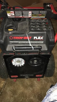 black and red Generac portable generator Hagerstown, 21740