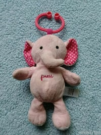 white and pink bear plush toy Silver Spring, 20910