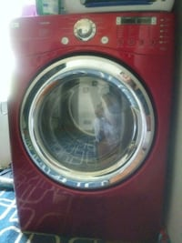 red front-load clothes washer Indianapolis, 46201