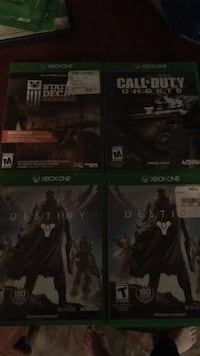 Xbox 1 games Charles Town, 25414