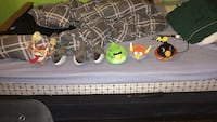 assorted Angry bird plush toys Brantford, N3S