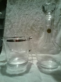 Decanter and Ice bucket (SALE) Bossier City, 71112