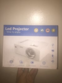 white LED projector box Los Angeles, 91405