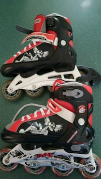 Mongoose ABEC 7 adjustable inline skates size 1-4  141 mi