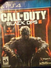 Call of Duty Black Ops 3 PS4 game case Surrey, V3S 3W1
