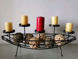 Candle stand decoration