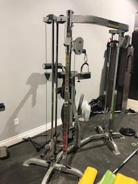 Black and gray exercise equipment Powertec Strength  Mississauga, L4W 1C9