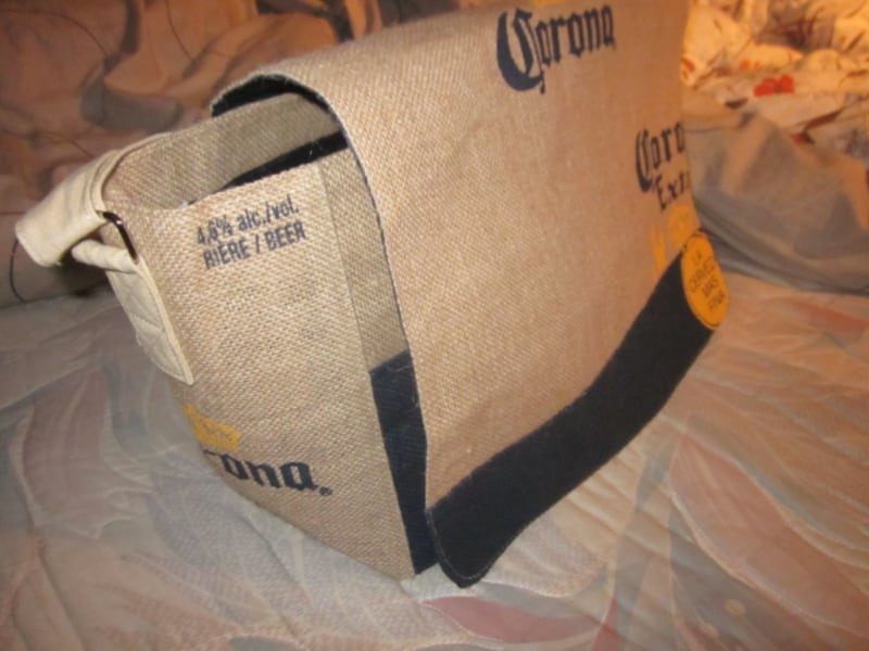 Brand New Corona Beer Cooler for 18 Bottles Beach Burlap Bag  b0c19ec4-2cea-4127-bcd4-b7346a28a43c