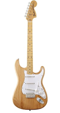 Fender 70s Stratocaster Natural Color  + Extras!! Made in Mexico