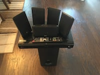 black and gray home theater system Milton, L9T 0T2