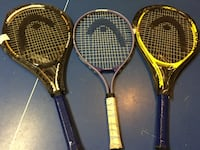 3 Tennis bat like new Coquitlam, V3E 3N3