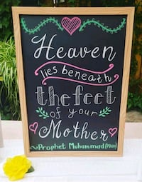 Chalk board Quote Sign | Wedding Sign | Event Sign Toronto, M9C 5N6