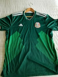 XL Official 2018 Mexico Jersey