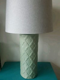 white and gray table lamp Washington, 20003