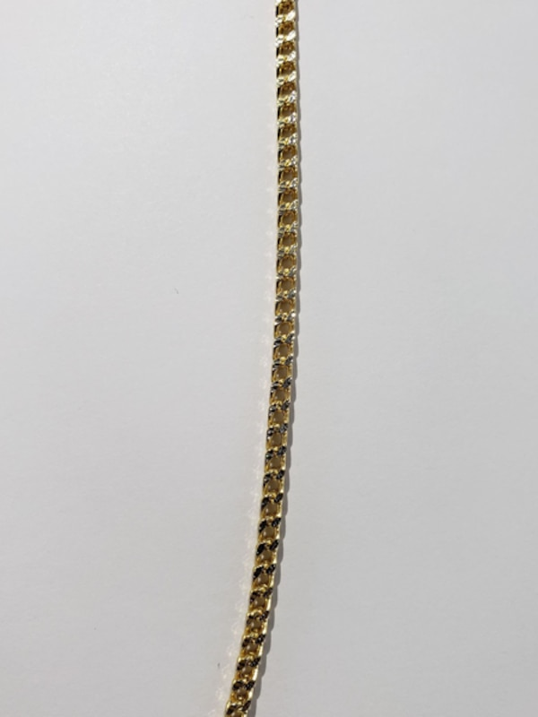 10k Yellow Gold Two-Toned Franco Chain ad4c1703-35f3-4699-90dc-1836d0790b79