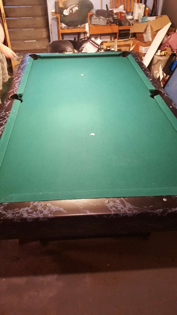 Used Sears Roebuck Ft Pool Table For Sale In Waverly Letgo - Sears billiard table sale