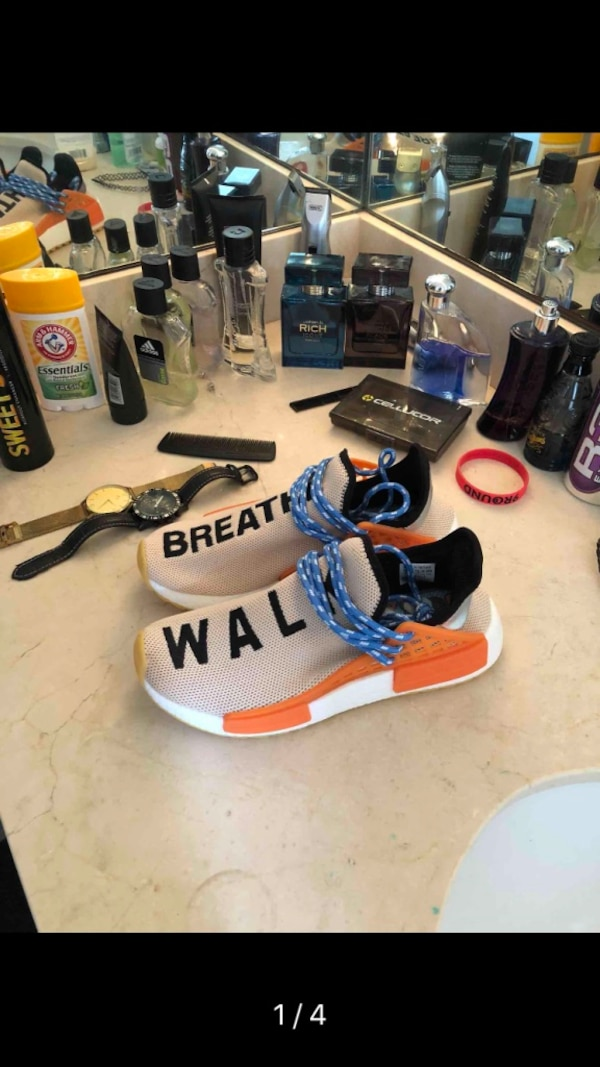 007e3c6d314c Used adidas Human Race NMD Pharrell Pale Nude for sale in Hoboken ...