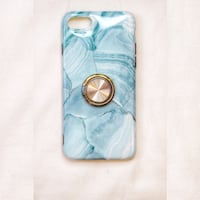 Blue and gold marble iPhone 7 or 8 case Toronto