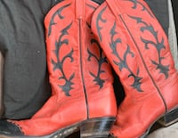 Women's 8.5 Red Tony Lama Cowgirl Boots Des Moines, 50313