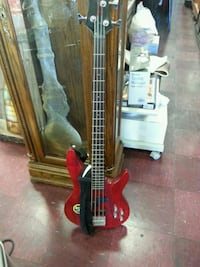 red and black electric guitar Garden Grove, 92844