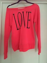 Love Pink Sweater by Material Girl M Reno