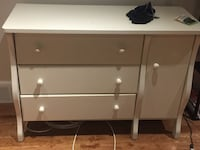 3drawer dresser (wood) w/one side door Beaconsfield