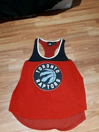 Womens Raptors ADIDAS jersey, 4/5 condition, pick up only.