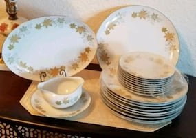 Elegant Table Setting by Lovely Fine China