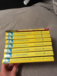 Nancy Drew book collection 10$ obo
