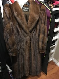 Mink Fur Coat Vaughan, L4H 0H6