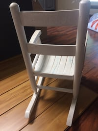 Child's wooden rocking chair Tulsa, 74127