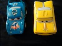 Cars from the movie cars