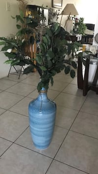 Vase with decor from Pier1. Price firm  Fort Lauderdale, 33308