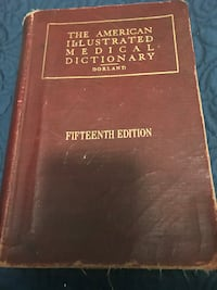 JUST REDUCED The American Illustrated Medical Dictionary Dorland Fifteenth edition Rockville