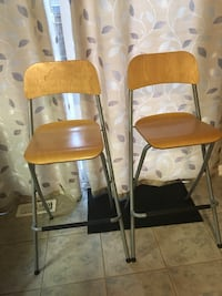 2- Chairs foldable 20.00 for set New Tecumseth, L9R 0B3