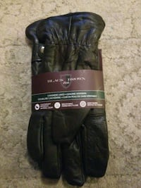 Black Browns cashmere lined Genuine Deerskin. Langley City, V3A 8S1