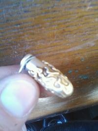9mm bullet replica gold plate and silver Taft, 93268