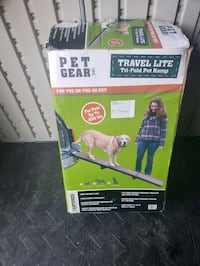 Dog ramp for big dogs never used.